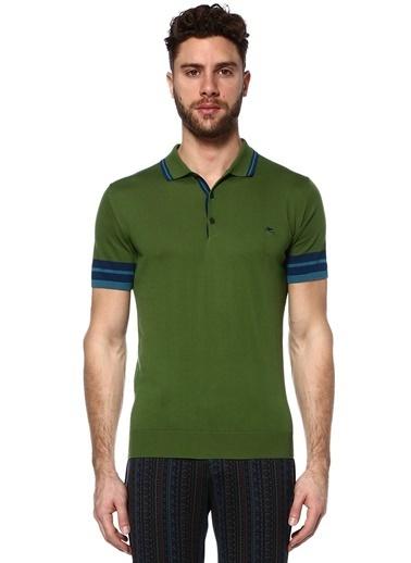 Etro Polo Yaka Tişört Yeşil